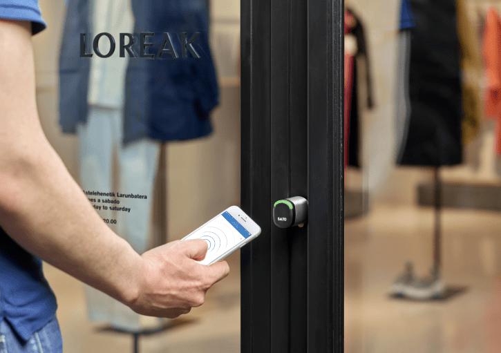 Access control solutions for Retail