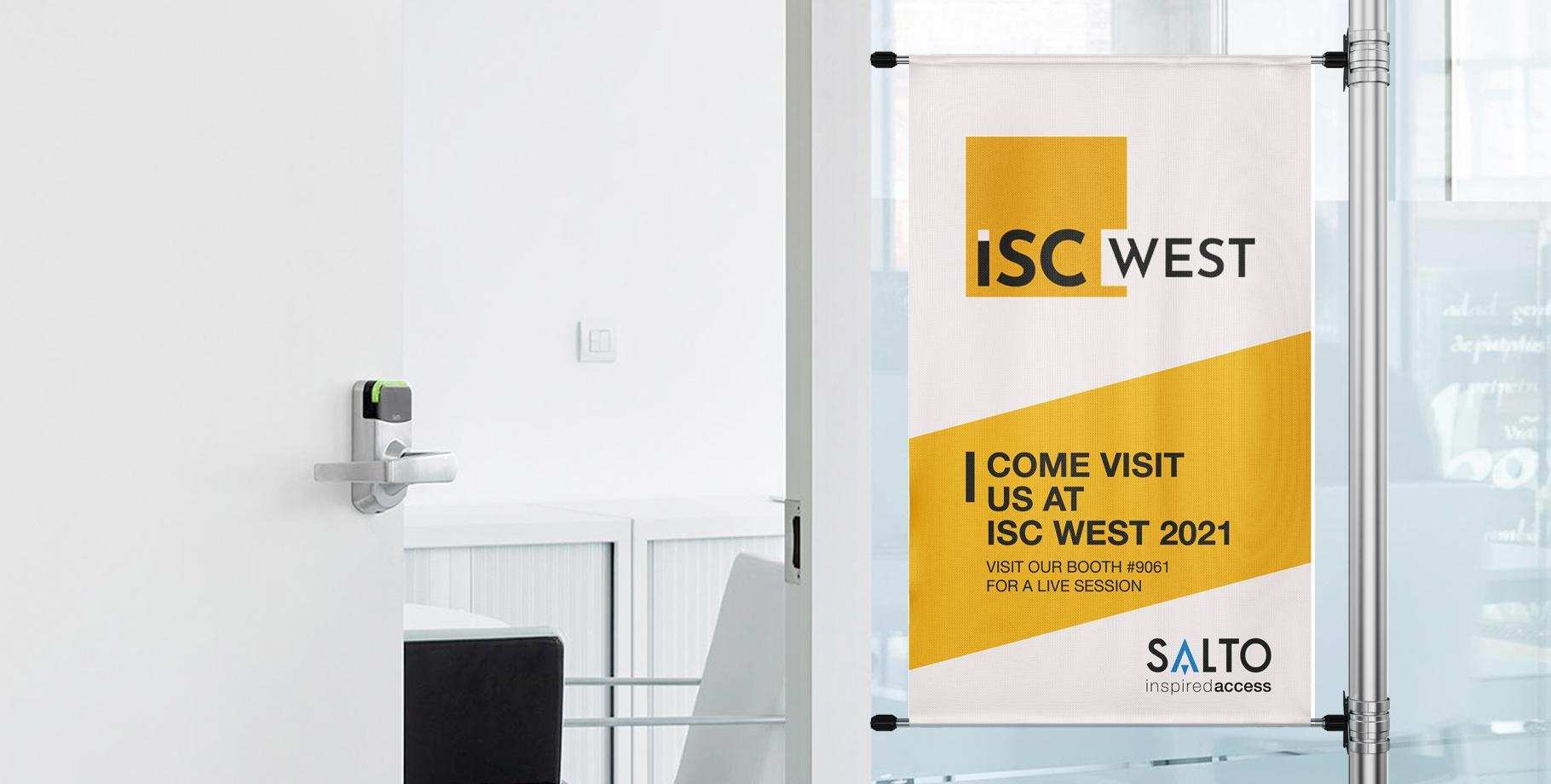 Come visit us at ISC WEST 2021