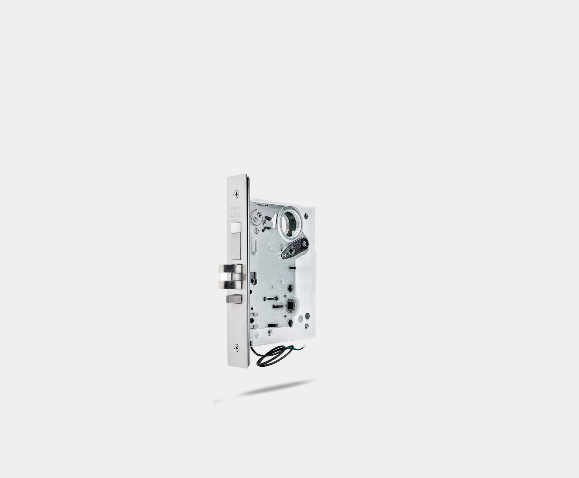 LA1T-mortise-lock-automatic-satin-stainless