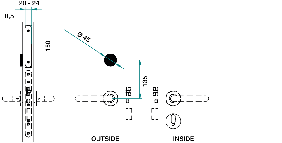 Ælement Fusion - EU Technical Drawing