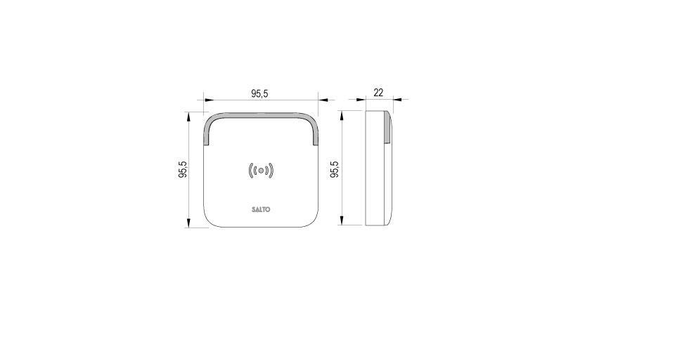 Design XS - Euro WR Technical Drawing