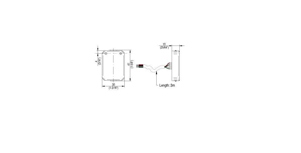 Panel XS WR Technical Drawing