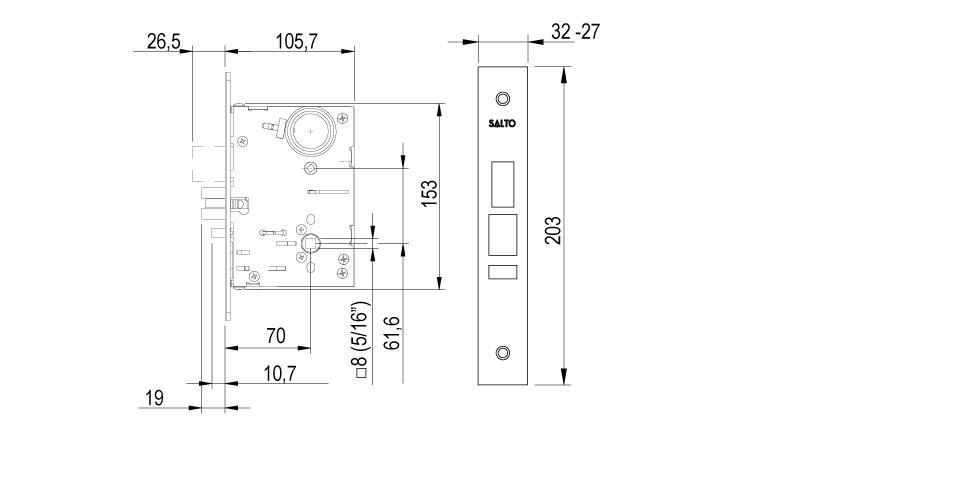 LA1T Technical Drawing