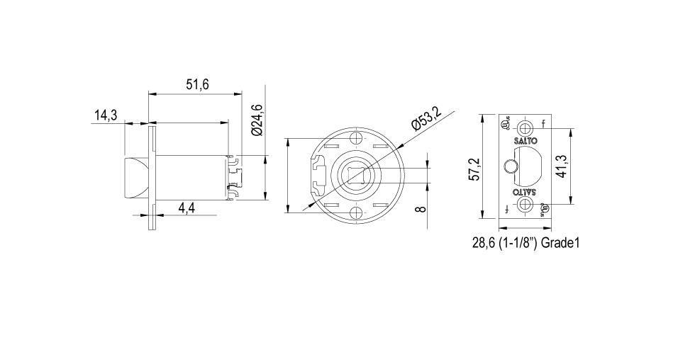 LC1M Technical Drawing