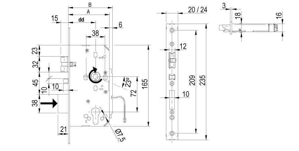 LE7S Technical Drawing