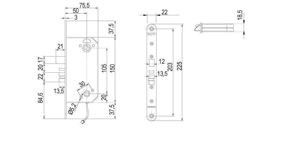 LS5N Technical Drawing