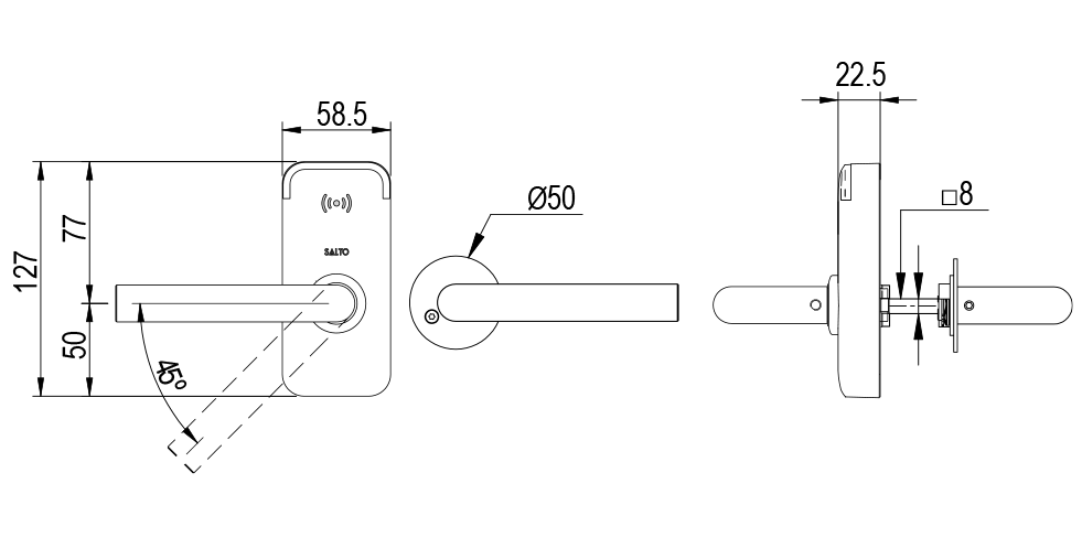 XS4 Mini - Scandinavian Technical Drawing