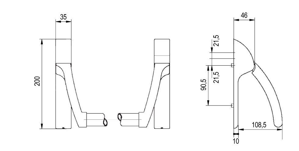 XS4 PBE900 Technical Drawing